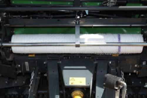 The binding and net roll are positioned in a visible area.